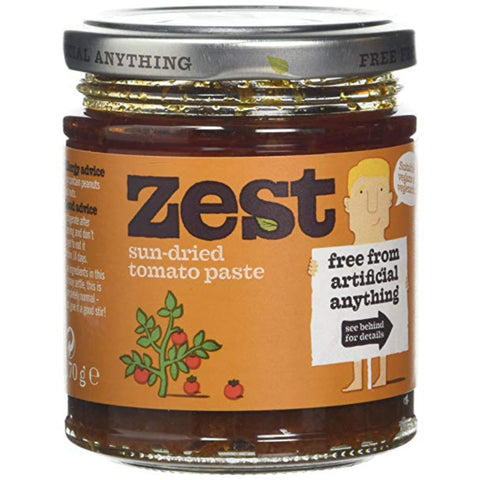Zest Sundried Tomato Paste (6x170g)