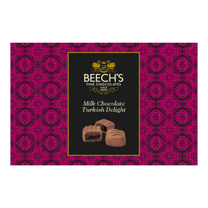 Beech's Fine Chocolates Milk Chocolate Turkish Delight (6x150g)