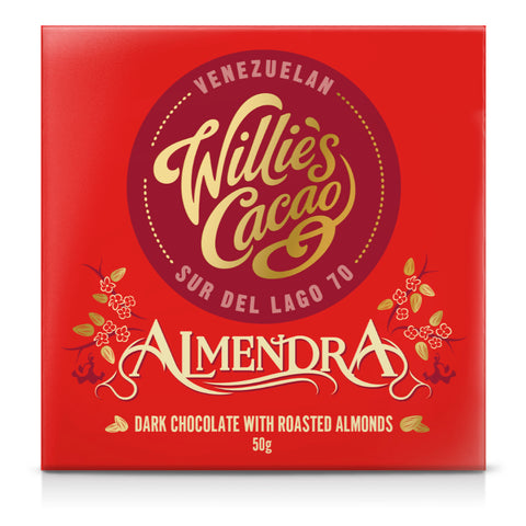 Willie's Cacao Almendra Venezuelan Chocolate (12x50g)