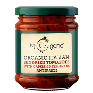 Mr Organic Sundried Tomatoes Antipasti (6x190g)