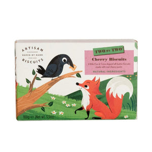 Artisan Biscuits Fox & Crow Cherry Biscuits (12x100g)