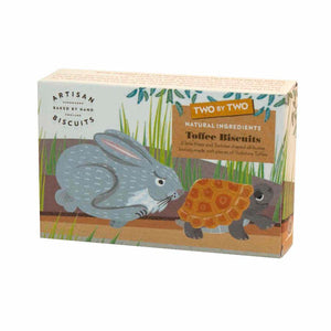Artisan Biscuits Two by Two Hare & Tortoise Toffee Biscuits (12x100g)