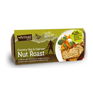 Artisan Grains Country Veg' & Cashew Nut Roast (6x200g)