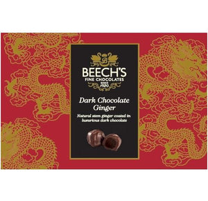 Beechs Fine Chocolates Dark Chocolate Ginger (6x200g)