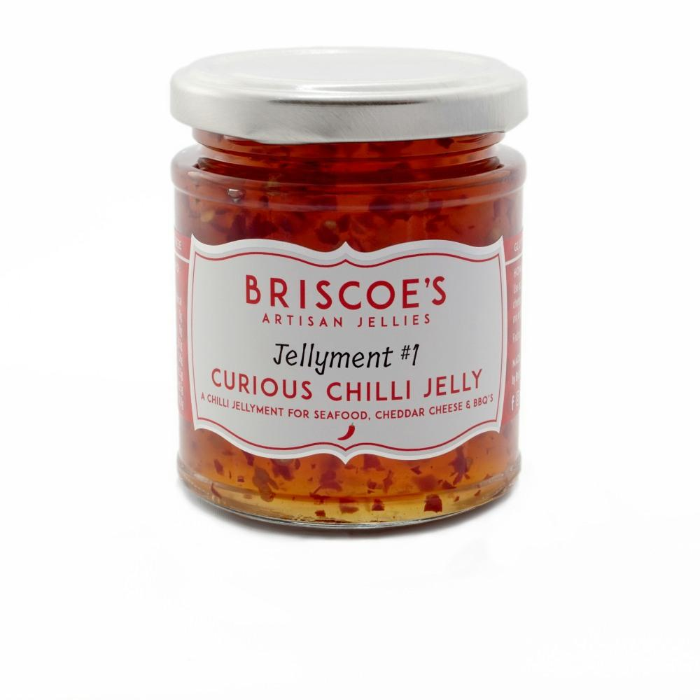 Briscoes Curious Chilli Jelly (6x130g)
