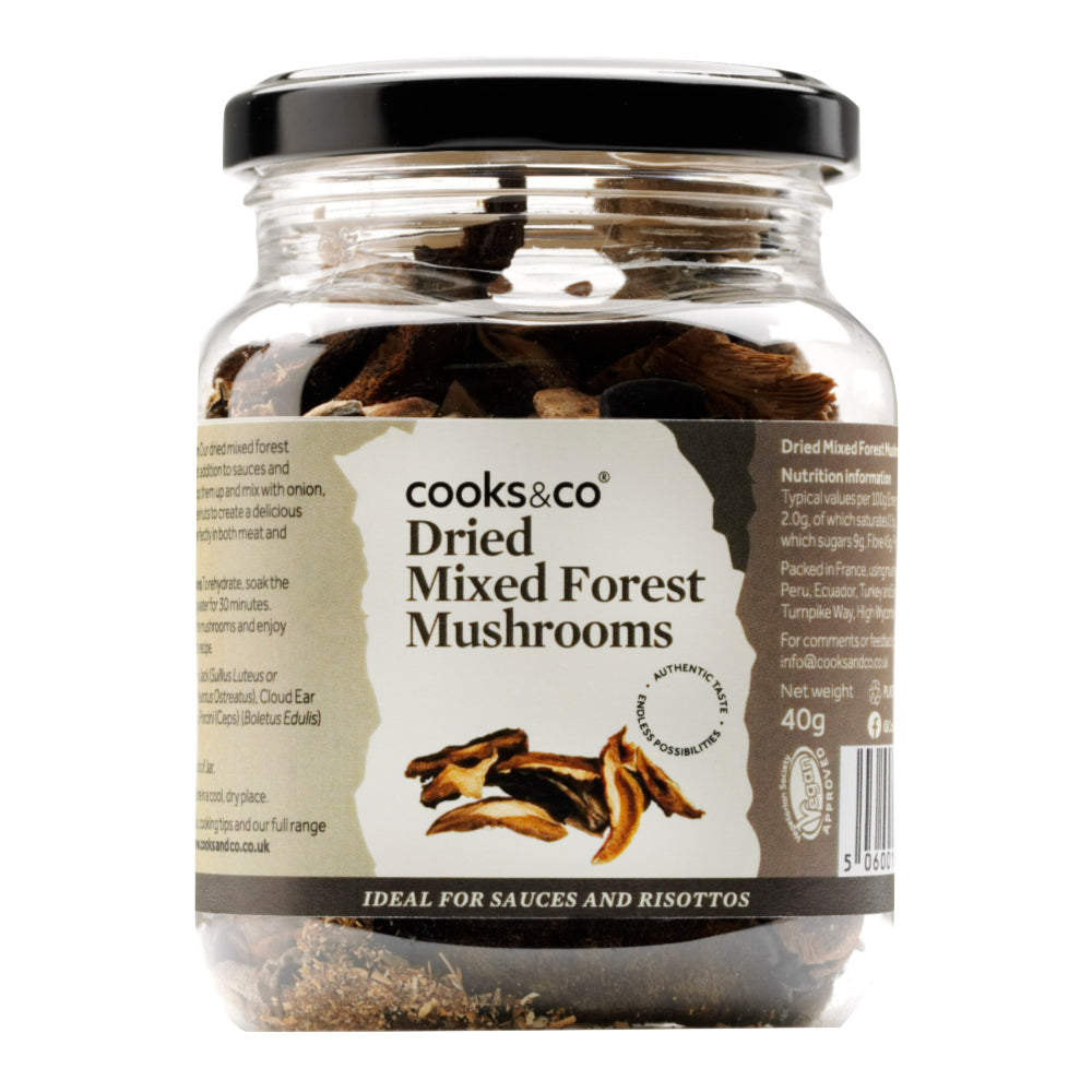 Cooks & Co Dried Mixed Forest Mushrooms (6x40g)