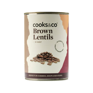 Cooks & Co Brown Lentils (6x400g)