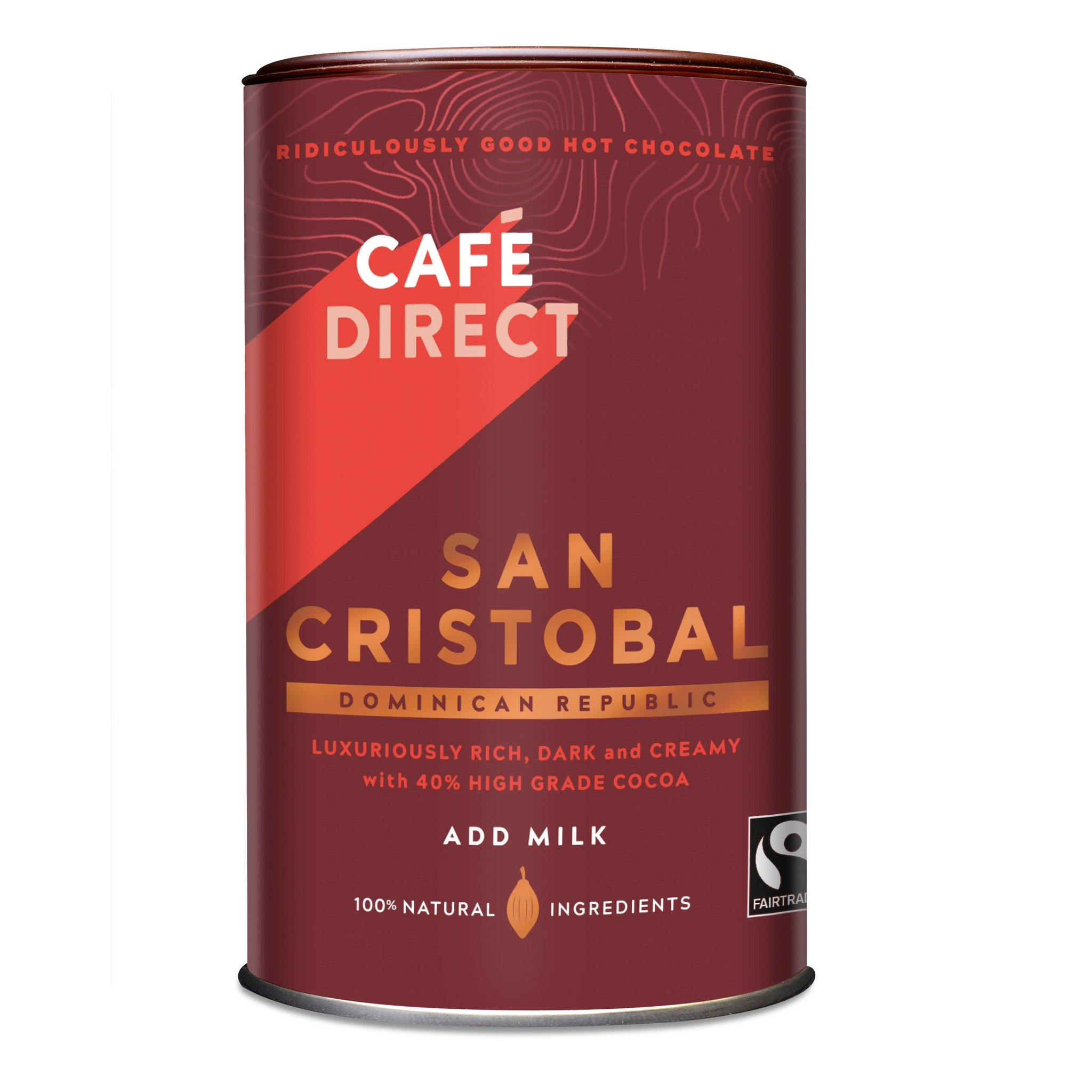 Cafe Direct Fairtrade San Cristobal Hot Chocolate (6x250g)