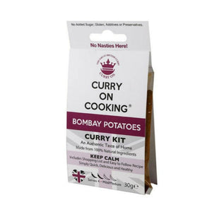 Curry on Cooking Bombay Potatoes Curry Kit (8x30g)