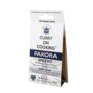 Curry on Cooking Pakora Spice Kit (8x30g)