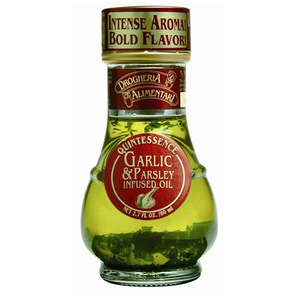Drogheria & Alimentari Garlic & Parsley Infused Oil (6x80ml)