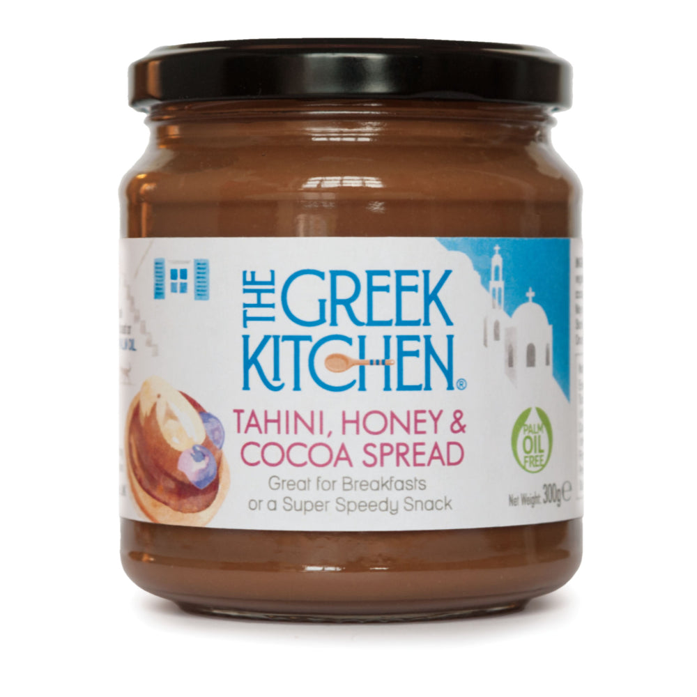 The Greek Kitchen Tahini, Honey & Cocoa Spread (6x300g)