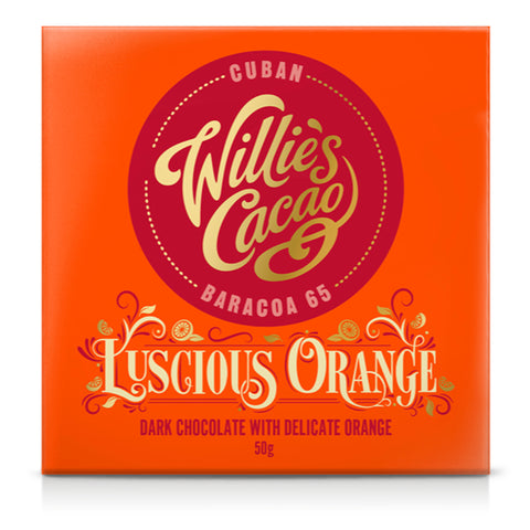 Willie's Cacao Luscious Orange Cuban Chocolate (12x50g)