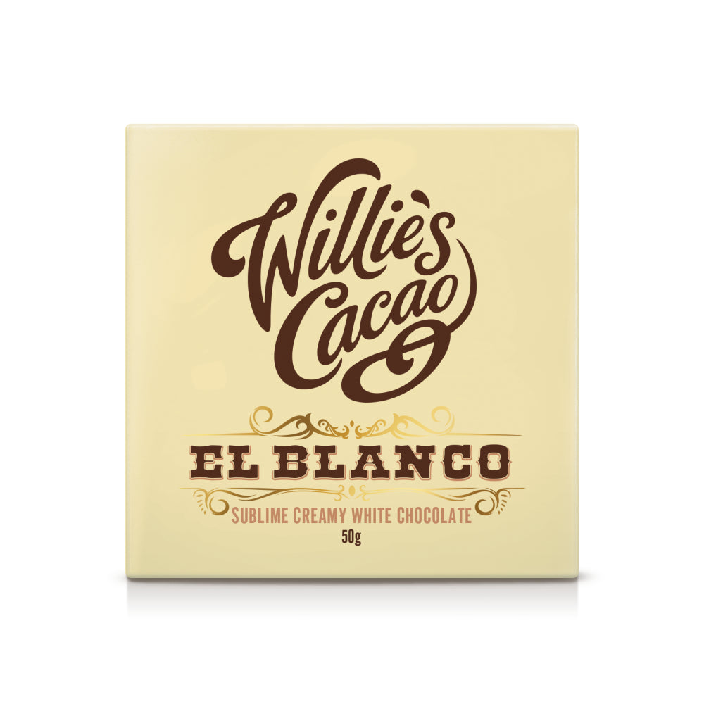 Willie's Cacao El Blanco Venezuelan Chocolate (12x50g)