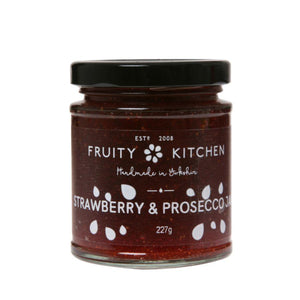 Fruity Kitchen Strawberry & Prosecco Jam (6x227g)