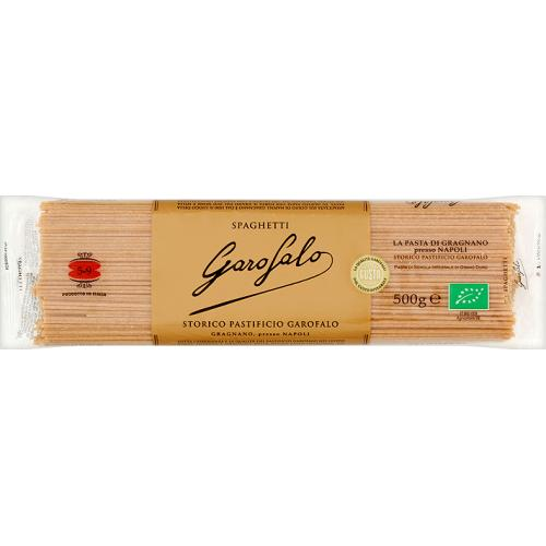 Garofalo Organic Whole Wheat Spaghetti (24x500g)