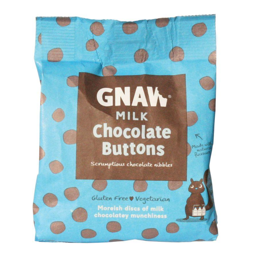 Gnaw Milk Chocolate Buttons (6x150g)