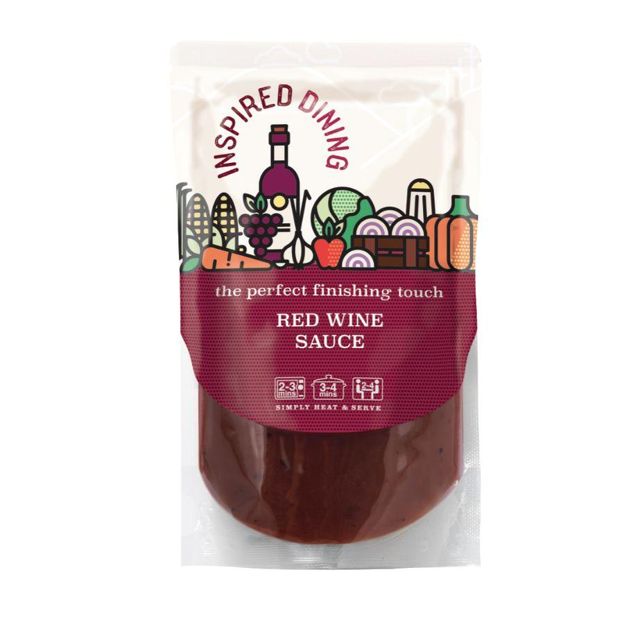 Inspired Dining Red Wine Sauce  (8x200g)