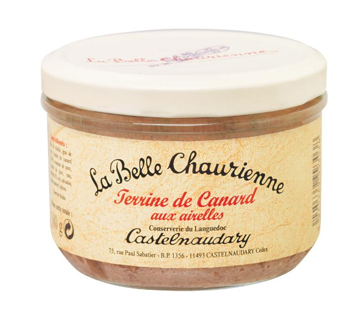 La Belle Chaurienne Duck Terrine with Cranberries (12x180g)