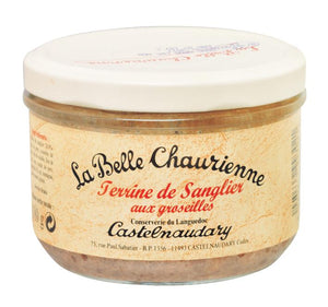 La Belle Chaurienne Wild Boar Terrine with Redcurrants (12x180g)