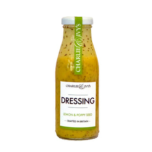 Charlie & Ivy's Lemon & Poppy Seed Dressing (6x250ml)