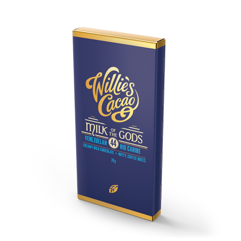 Willies Cacao Milk of the Gods Impulse Bar (30x26g)