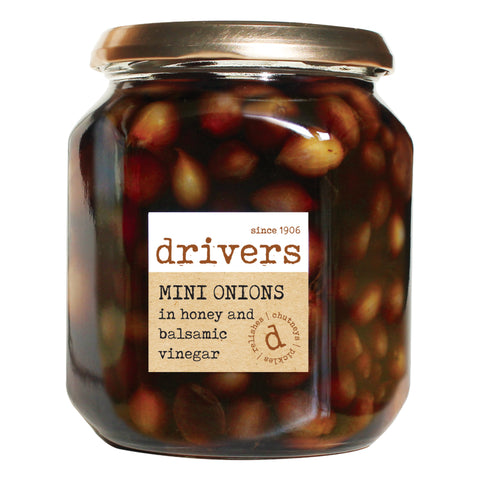 Drivers Mini Onions in Balsamic Vinegar with Honey (6x550g)