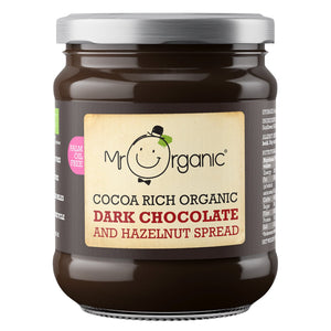 Mr Organic Cocoa Rich Dark Chocolate & Hazelnut Spread (6x200g)