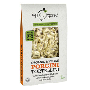 Mr Organic Tortellini with Porcini Mushrooms (10x250g)