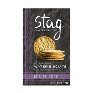 Stag Bakery Multi-Seed Water Biscuits (12x150g)
