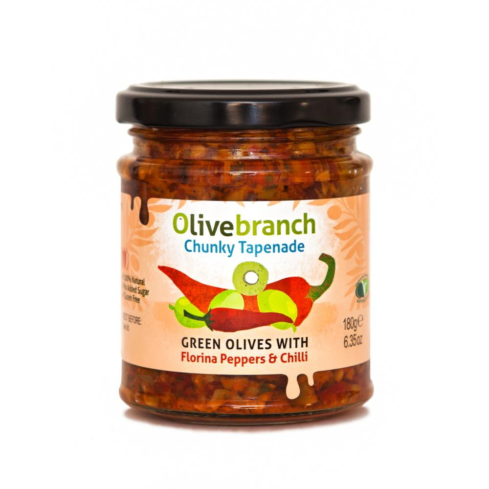 Olive Branch Florina Peppers & Chilli Tapenade (6x180g)