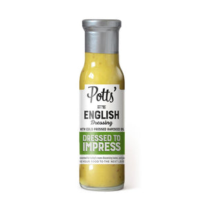 Potts Honey, Mustard & Rapeseed Oil Dressing (6x250g)