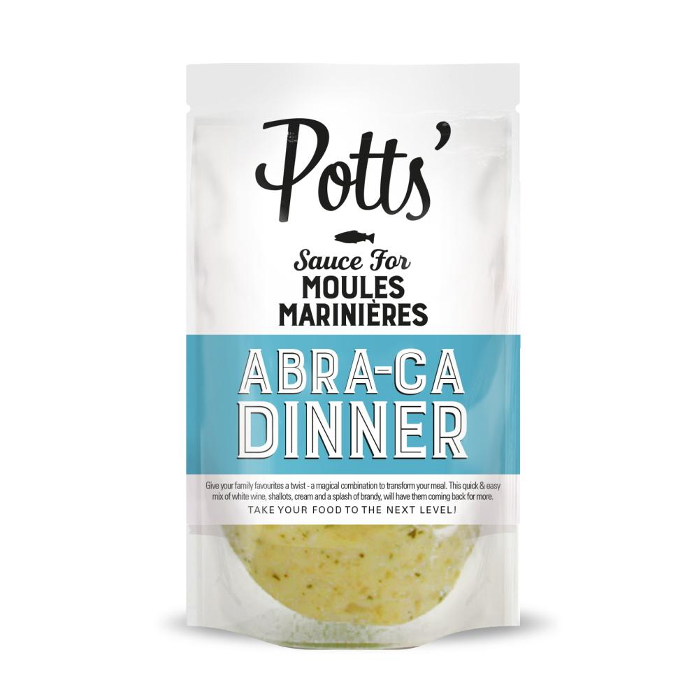 Potts Sauce for Moules Marinieres (6x400g)