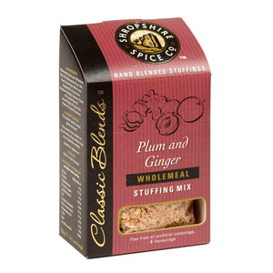 Shropshire Spice Co Plum & Ginger Wholemeal Stuffing Mix (6x150g)