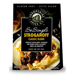 Shropshire Spice Co So Simple Stroganoff Classic Spice Blend (10x40g)