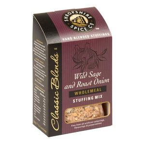 Shropshire Spice Co Wild Sage & Roast Onion Wholemeal Stuffing Mix (6x150g)