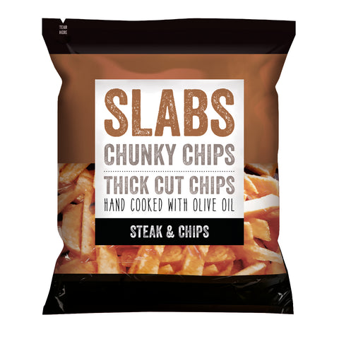 Slabs Steak & Chips Chunky Chips(12x60g)