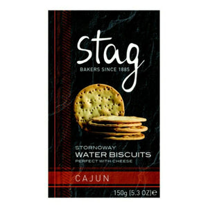 Stag Bakery Cajun Water Biscuits (12x150g)