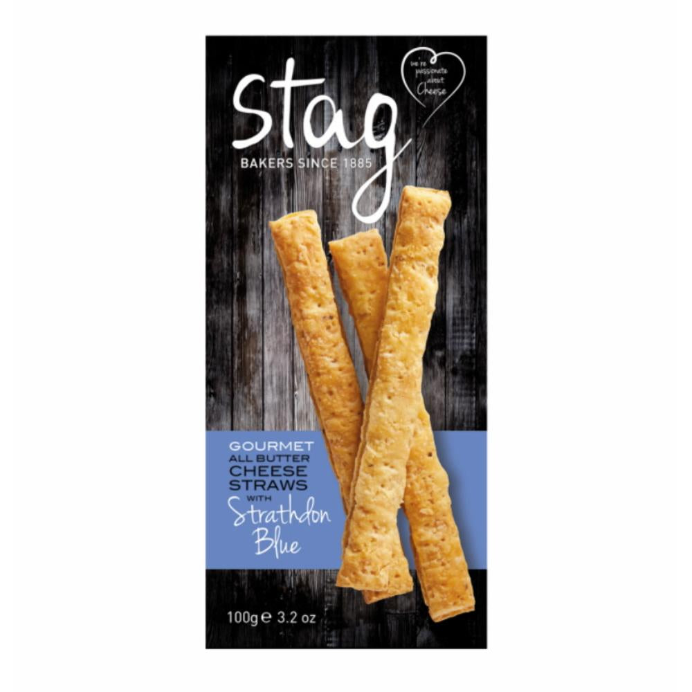 Stag Bakery Cheese Straws with Strathdon Blue (6x100g)