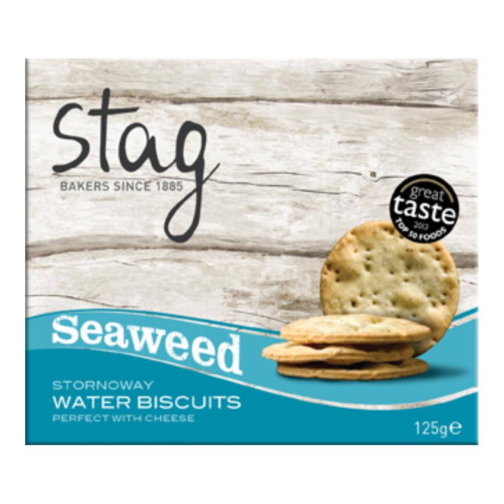 Stag Bakery Cocktail Seaweed Water Biscuits (12x125g)