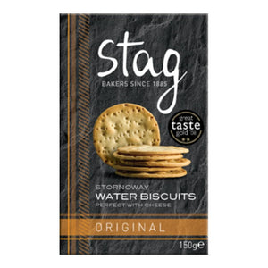 Stag Bakery Original Water Biscuits (12x150g)