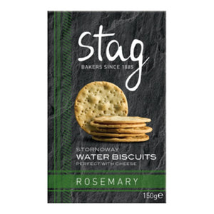 Stag Bakery Rosemary Water Biscuits (12x150g)