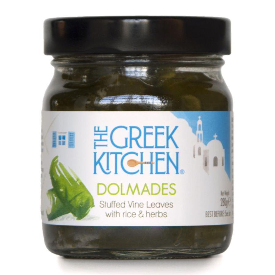 The Greek Kitchen Stuffed Vine Leaves (6x280g)