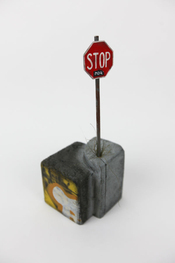 Stop 1, A Unique Sculpture by Christopher Konecki