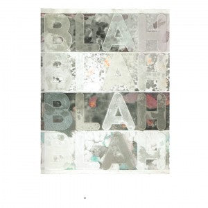 Mel Bochner: Monoprints: Words, Words, Words…