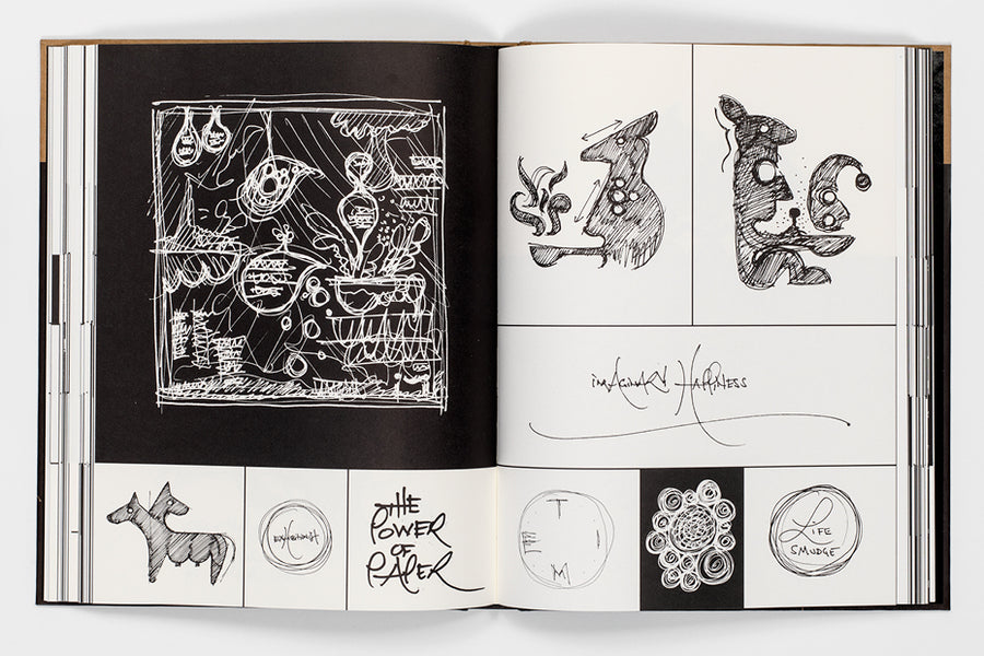 Ryan McGinness Sketchbook Selections 2000-2012 (Signed)
