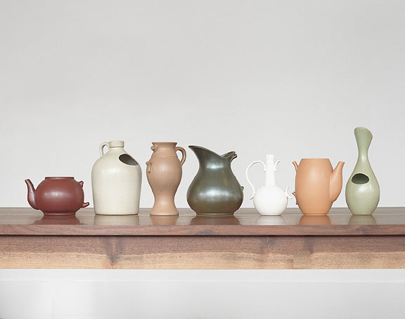 Roy McMakin, Vases about Language and Redemption, Ceramic Set