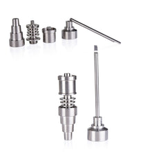 Load image into Gallery viewer, 6-in 1 Titanium Nail for Male/ Female Collector (10mm/14mm/18mm)