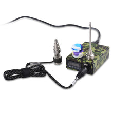 Load image into Gallery viewer, Green Camouflage Enail Kit for Dabbing - PID Temperature Controller with 2-Grade Titanium Nail