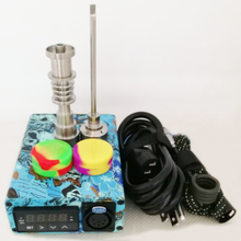 Load image into Gallery viewer, Unique Enail Kit for Dabbing - PID Temperature Controller with 2-Grade Titanium Nail